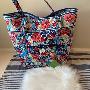 NWT Vera Bradley Summer Cottage tote shoulder bag